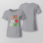Christmas - Horse Ladies T-shirt