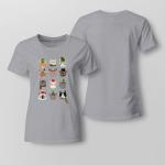 Christmas - Cats Ladies T-shirt