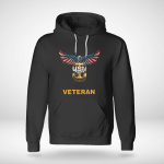 United States Navy American Eagle Veteran Hoodie