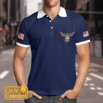 United States Navy Full Color Polo Shirt