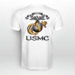 USMC-Semper Fidelis Back T-shirt