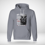 Funny - My Life. My choices. My mistakes. My lessions Hoodie