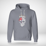 Skull - Kings Are Born in Hanuary With Nepalese Blood Hoodie