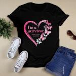 I'm a survivor breast cancer awareness T shirt