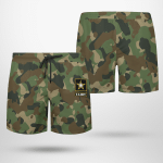 US Army Camouflage Beach Short
