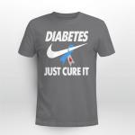 Diabetes just cure it T shirt