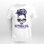Suidice awareness - September girl T shirt