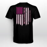 Breast cancer - No one fights alone T shirt