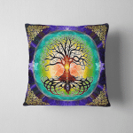 Wicca tree of life W011 Pillow Case Cover