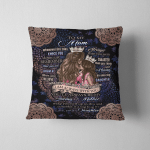 To My Mom Blanket, Mothers Day Gift 317 Square Pillow