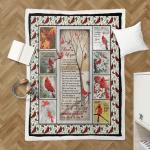 I Never Left You, Cardinals 319 Sherpa Blanket