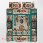 Native American Beautiful 325 Quilt Bed Set