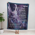 To my mom Dragon Fleece Blanket 315