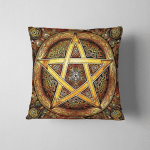 Wicca pentacle W10 Pillow Case Cover