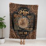 Gifts For Mom Fleece Blanket 323
