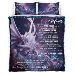 To my mom Dragon Bedding set 315