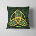Wicca Triquetra W18 Pillow Case Cover