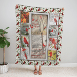 I Never Left You, Cardinals 319 Fleece Blanket