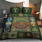 Wicca Pagan Witch Tree of Life Bedding set 176C