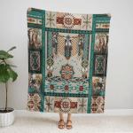 Native American Beautiful 325 Fleece Blanket