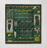 Mom To Daughter Senior 2021 333 Quilt Blanket