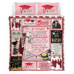 My Granddaughter, Congrats Graduates, Go Forth And Aim For The Skies, Senior 2021 334 Bedding Set