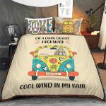 Hippie - On A Dark Desert Highway Bedding Set 328