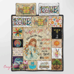April Girl Hippie Quilt Bed Set 330