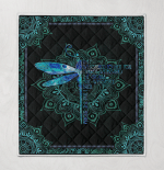 Dragonfly They Whisper To Her Quilt Blanket 329
