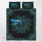 Dragonfly They Whisper To Her Quilt Bed Set 329