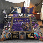 Wicca - To my Daughter, Put On Your Hat Witch  Bedding set 332