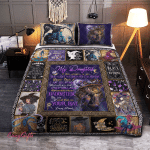 Wicca - To my Daughter, Put On Your Hat Witch Quilt Bed Set 322