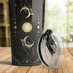 Wicca - Tarot hand moon Tumbler