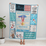 Registered Nurse I Own It Forever Fleece Blanket 320