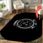 Wicca Black Cat W014  Area Rug