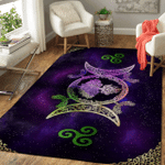 Wicca Tree Of Life And Moon W07 Area Rug