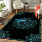 Dragonfly They Whisper To Her 329 Living Room Rug
