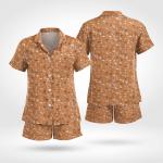 Wicca Magic Short Sleeves Pyjama 06