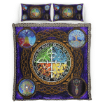 Wicca - Tree of Life Bedding Set 341B