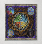 Wicca - Tree Of Life Quilt Blanket 341B