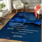 Let It Be Area Rug