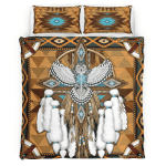 Native American Owl Spirit 344 Bedding Set