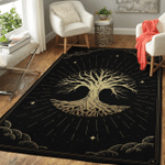 Wicca Tree Of Life W025 Area Rug