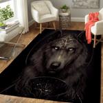 Native American Wolf 348 Rug