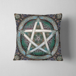 Wicca Pentacle W022 Pillow Case Cover