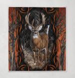 Deer Hunting 391 Quilt Blanket