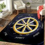 Wicca Wheel Of The Year W41 Area Rug