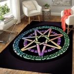 Wicca Fairy Star W066 Area Rug