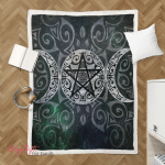 Wicca Triple 394  Sherpa Blanket