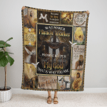 God - Way Maker, Miracle Worker 213 Fleece Blanket
